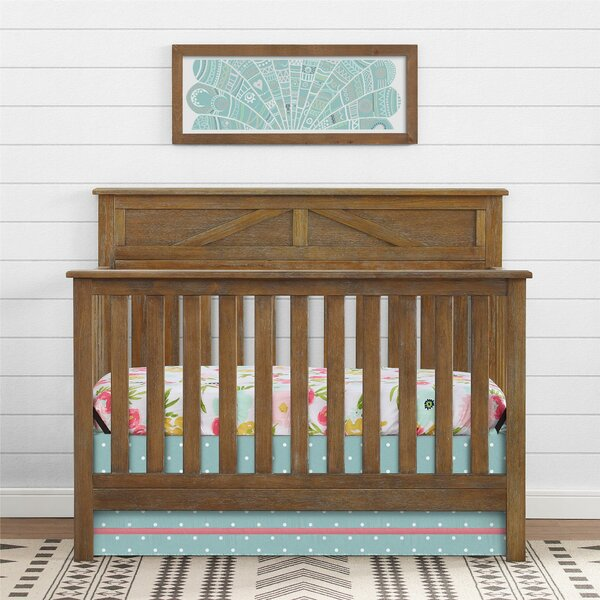 Baltimore 5-in-1 Convertible Crib by Harriet Bee