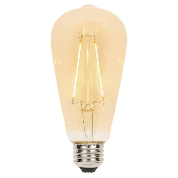 25W Amber E26/Medium (Standard) LED Light Bulb by Westinghouse Lighting