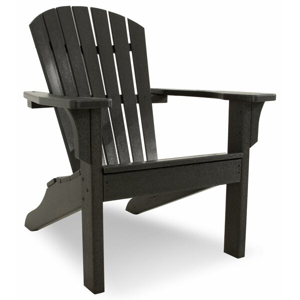 Artisan Shell Back Plastic Adirondack Chair by Ivy Terrace