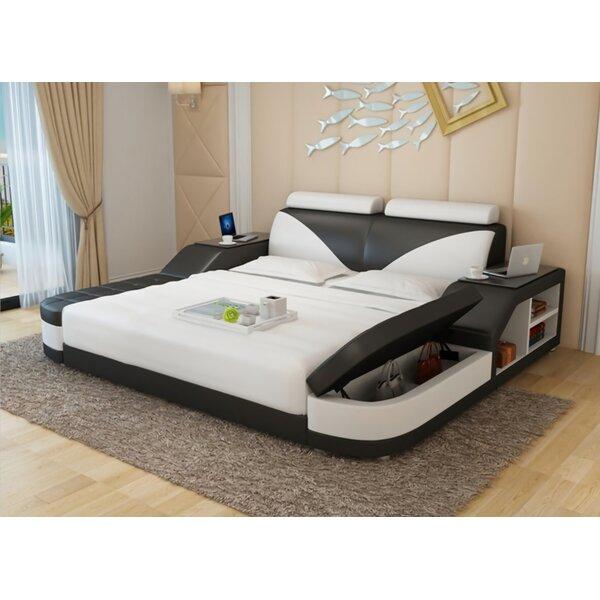 Hereth Upholstered Storage Platform Bed By Orren Ellis by Orren Ellis Best #1