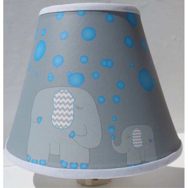 Bubbles and Elephant Night Light by Presto Chango Decor