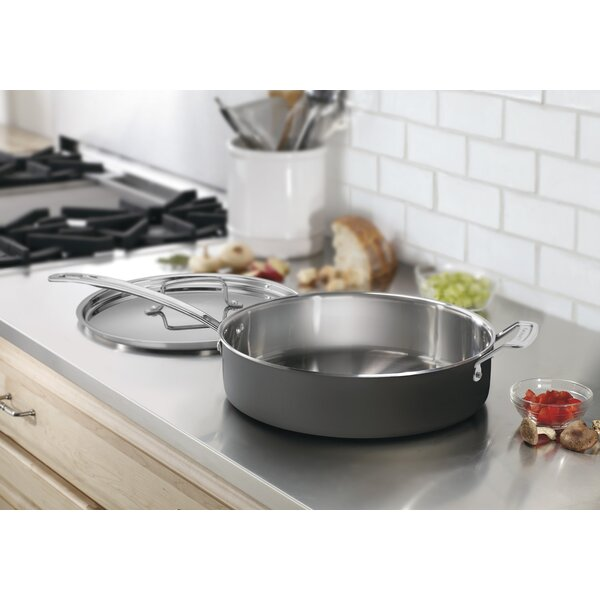 5.5-qt. Saute Pan with Lid by Cuisinart