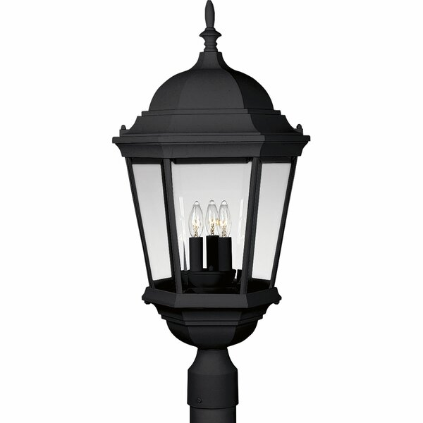 Triplehorn 3-Light Antique Lantern Head by Alcott Hill
