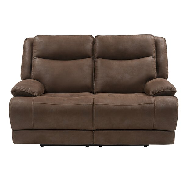 Vanburen Reclining Loveseat by Winston Porter