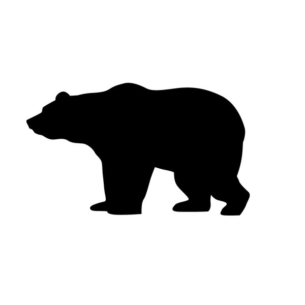 Tiny Bear Wall Decal (Set of 50) by Dana Decals