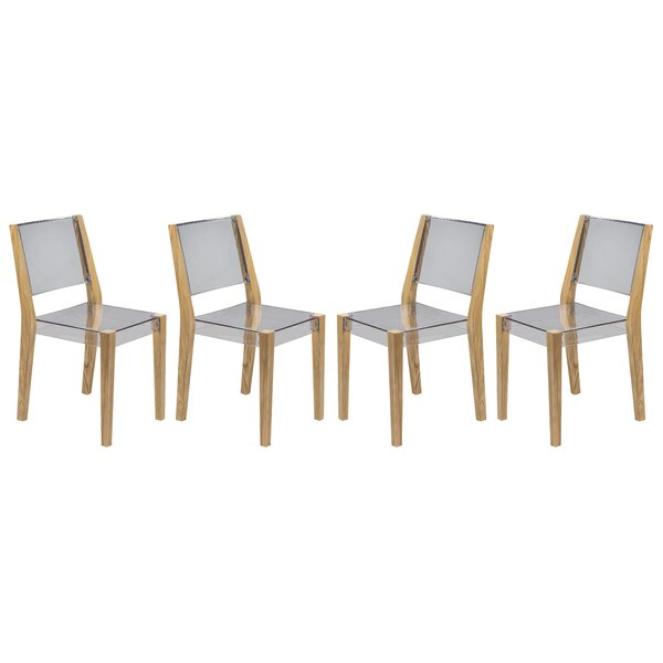 Hsieh Dining Chair (Set of 4) by Wrought Studio