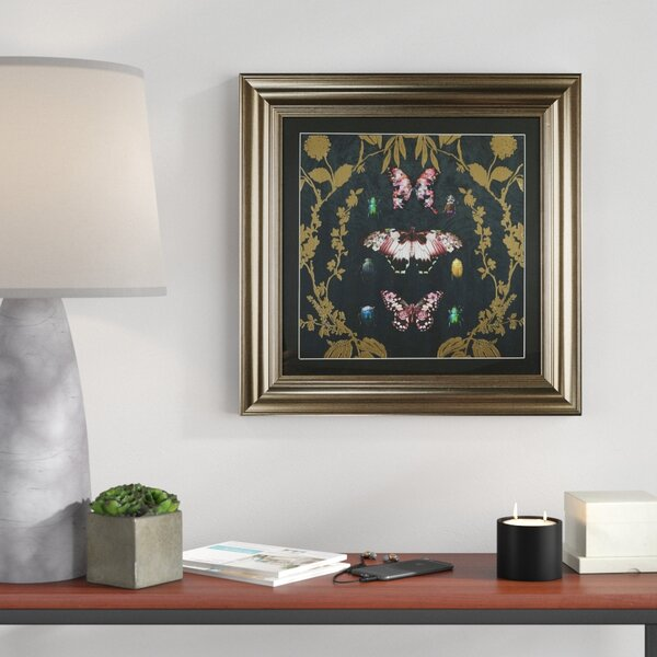 Black Butterfly Wall Art Wayfair Co Uk