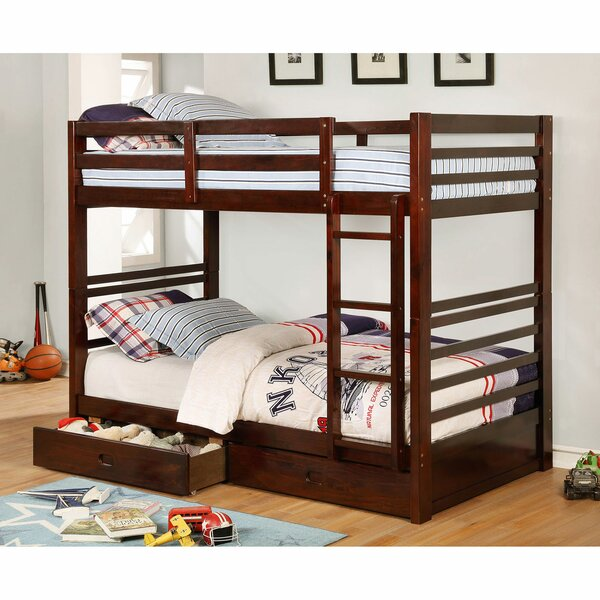 Mcray Twin Over Twin Bunk Bed with Drawers by Mack & Milo