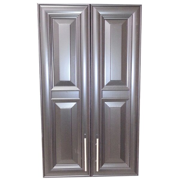 Overton 21 W x 37 H Recessed Cabinet by WG Wood Products