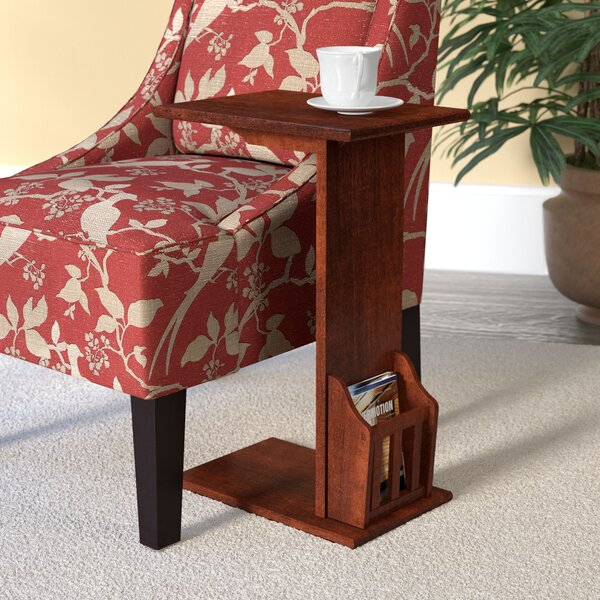 Gammons End Table by Alcott Hill