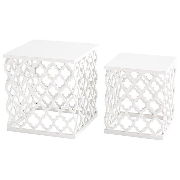 Cosmopolitan 2 Piece Nesting Tables by Cyan Design