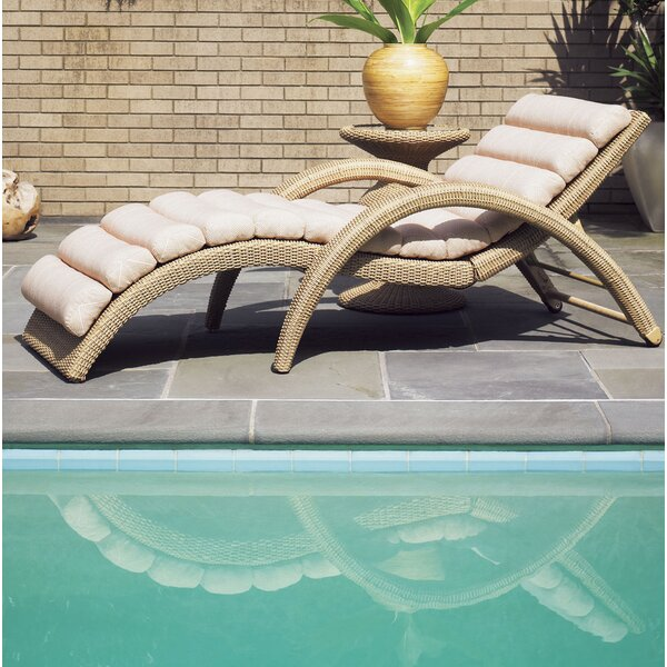 Aviano Chaise Lounge with Cushion by Tommy Bahama Outdoor