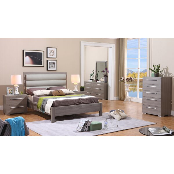 Valencia Platform Configurable Bedroom Set by Kinwai USA Inc.