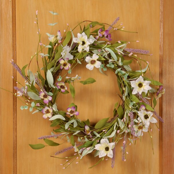 22 Fabric Wreath by National Tree Co.