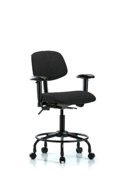 Arlo Round Tube Base Ergonomic Office Chair by Symple Stuff