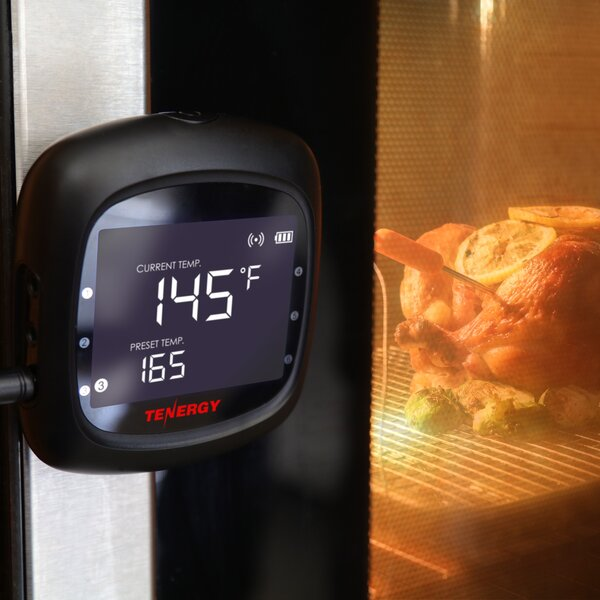Solis Digital 6 Probe Meat Thermometer by Tenergy