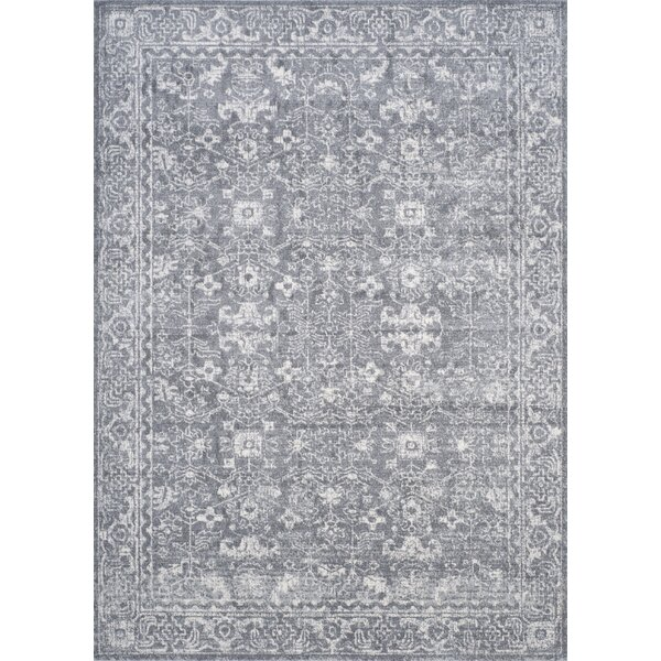 Montelimar Gray/Ivory Area Rug by Lark Manor
