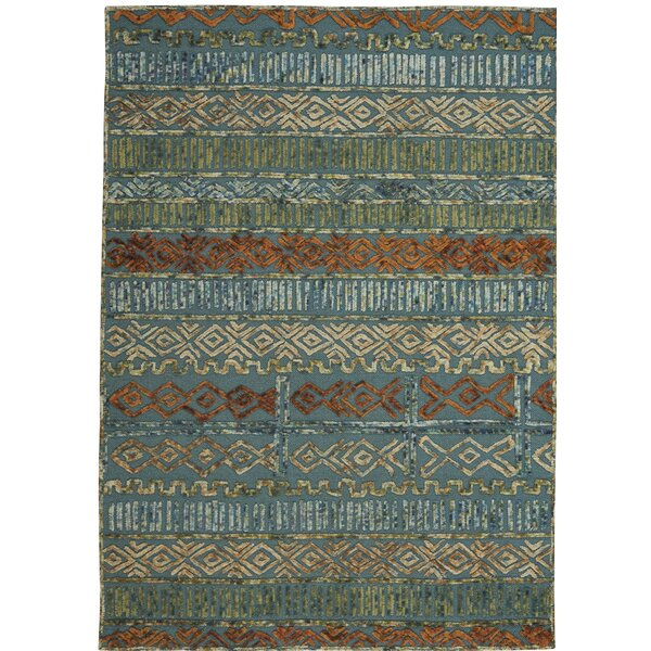 Congo Hand-Tufted Blue/Green Area Rug by Capel Rugs