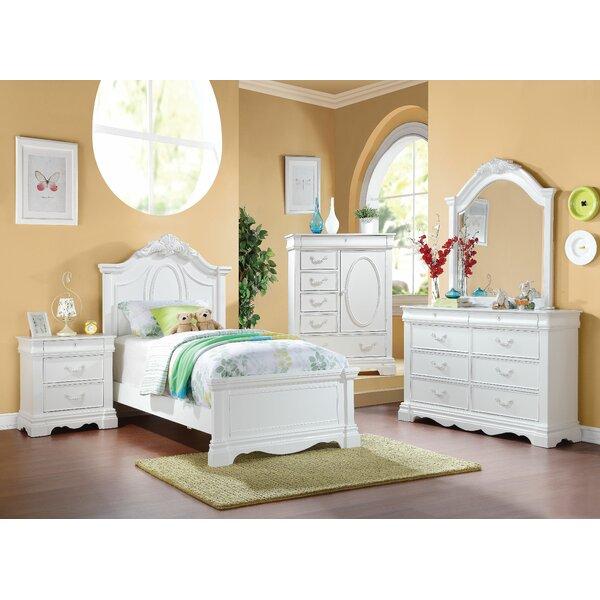 Deloris Panel Configurable Bedroom Set by Harriet Bee
