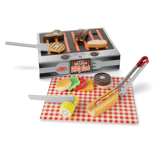 Grill and Serve BBQ set by Melissa & Doug