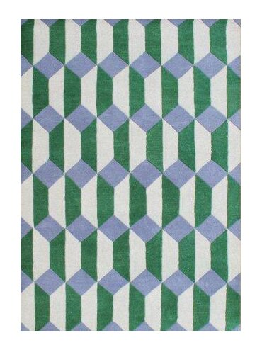 Regina Hand-Woven Yellow/Green Area Rug by Corrigan Studio