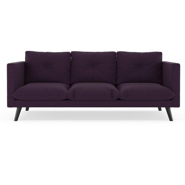 Rockton Cross Weave Sofa by Brayden Studio
