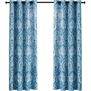 Slate Blue Curtains