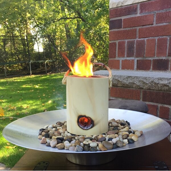 Wood Burning Tabletop Fireplace by OneLogFire