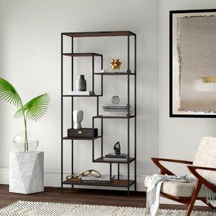 Lauber Framed Etagere Standard Bookcase