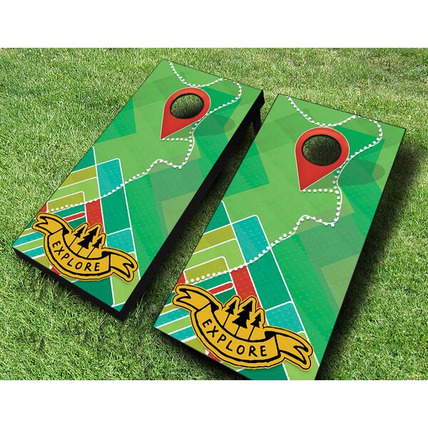 Explore Cornhole Set by AJJ Cornhole