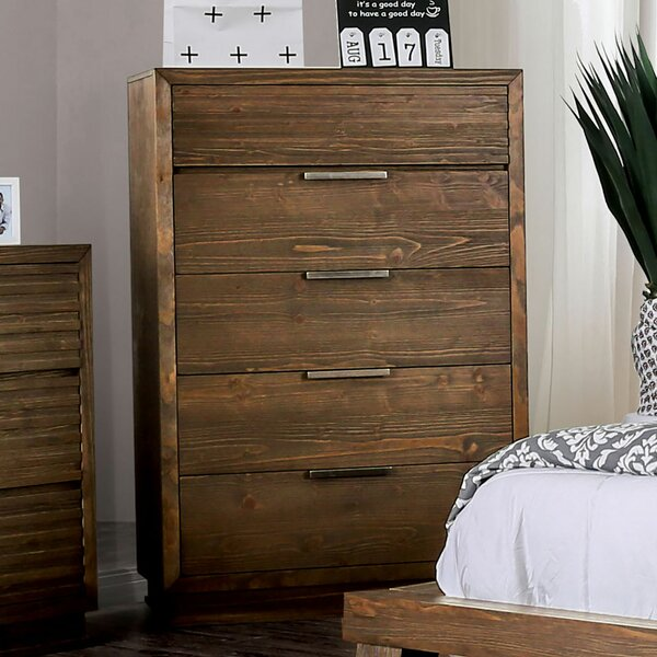 Buffington 5 Drawer Chest by Loon Peak