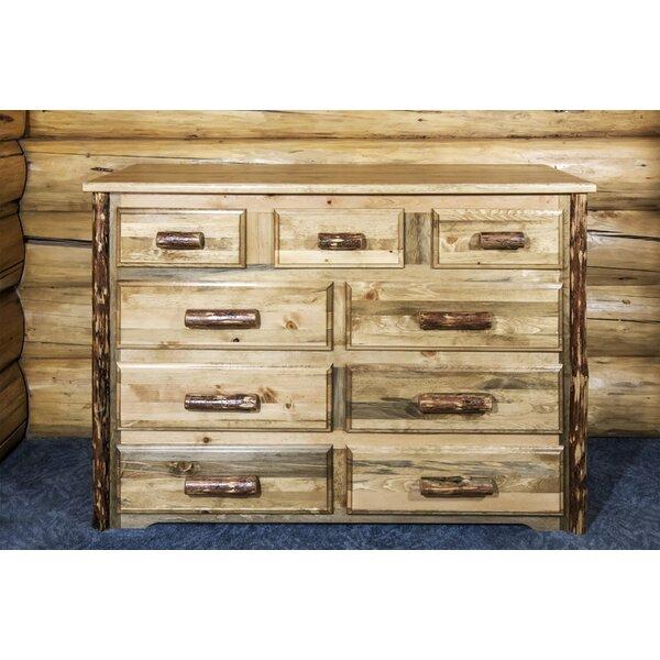 Tustin 9 Drawer Dresser by Loon Peak