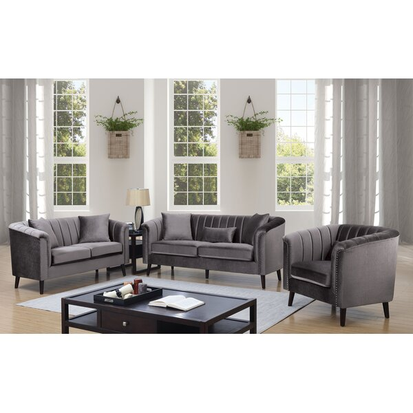 Neptune Configurable Living Room Set by Everly Quinn