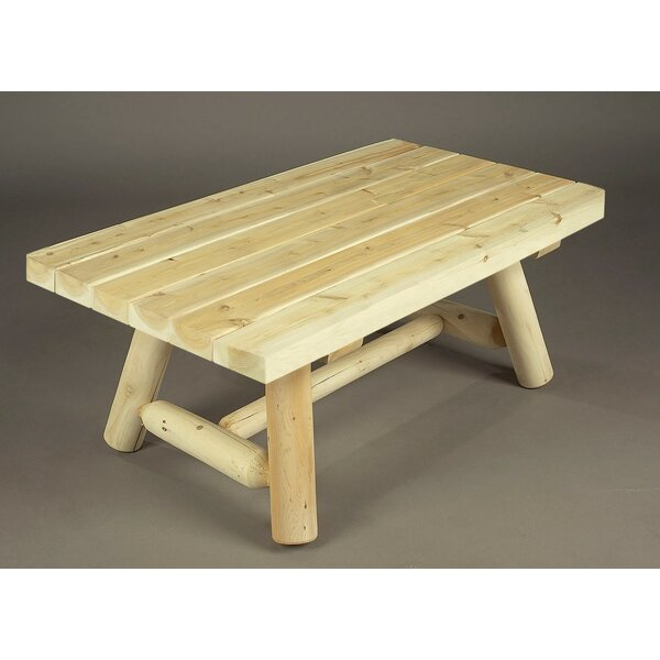 Rectangular Cedar Coffee Table by Rustic Natural Cedar Furniture