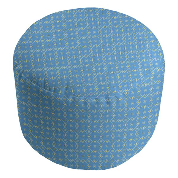 Avicia Diamonds Pouf By Latitude Run Modern
