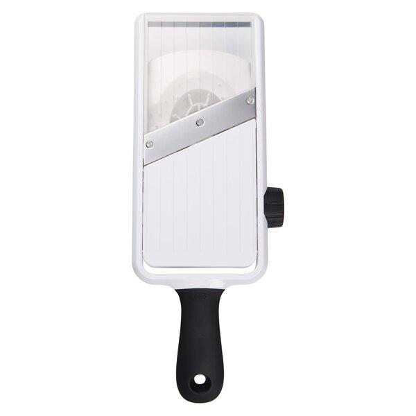 Good Grips Adjustable Hand-Held Mandoline Slicer by OXO