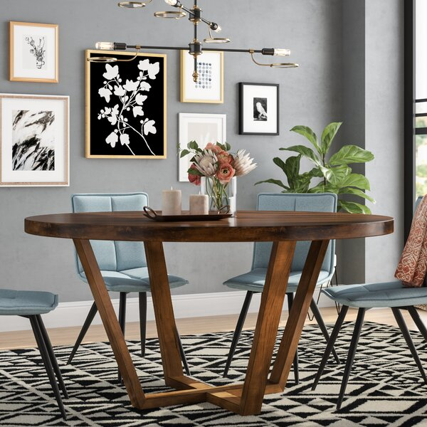 Macarthur Solid Wood Dining Table by Ivy Bronx