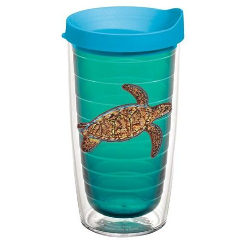 Guy Harvey Sea Turtle Plastic Travel Tumbler by Tervis Tumbler