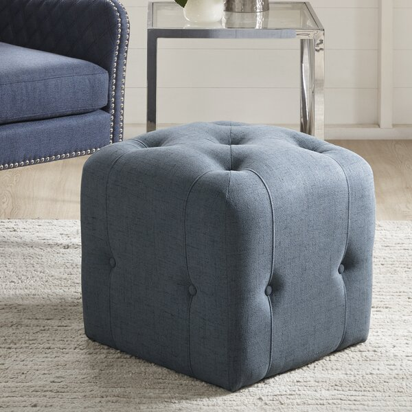 Briley Cube Ottoman by Wrought Studio