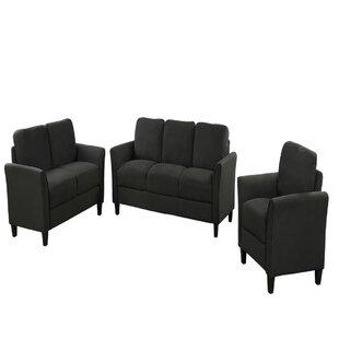 Olivo 3 Piece Standard Living Room Set by Red Barrel Studio®