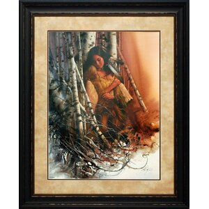 'Quiet Refuge' by Lee Bogle Framed Painting Print by North American Art