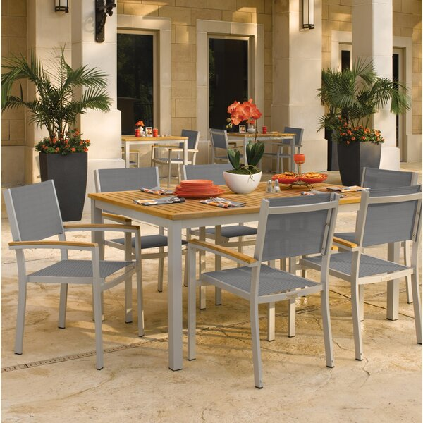 Farmington Contemporary 7 Piece Dining Set by Latitude Run