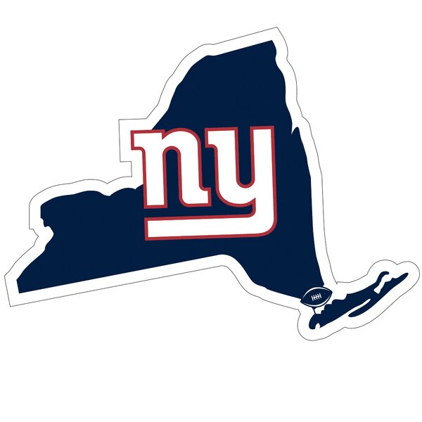 NFL New York Giants Home State Magnet by Siskiyou Products