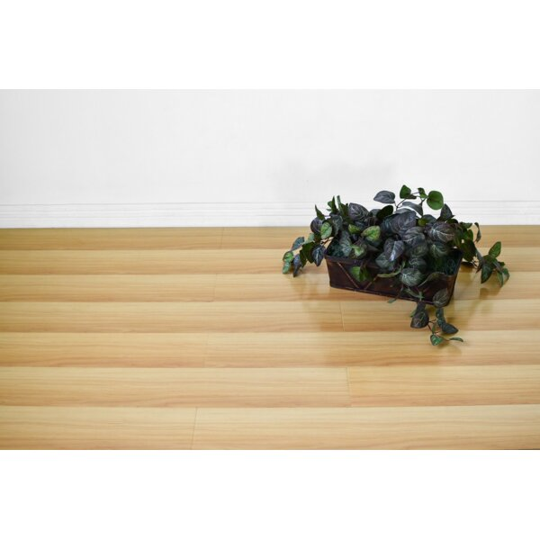 Vance 7 x 48 x 12mm Oak Laminate Flooring in Tan by Serradon