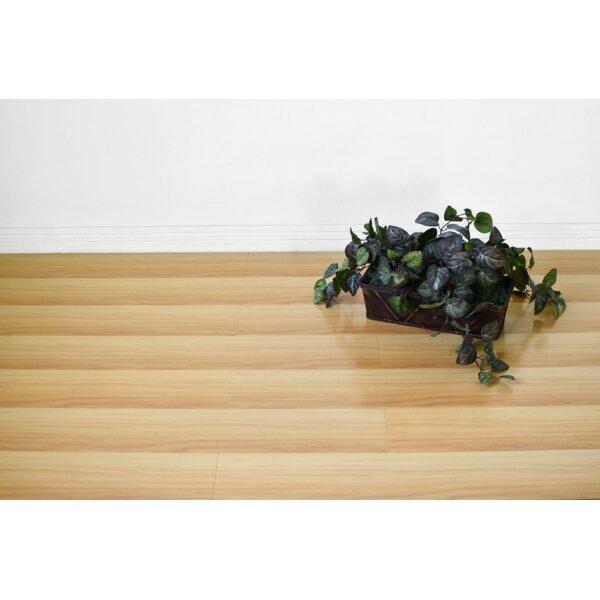 Vance 7 x 48 x 12mm Oak Laminate Flooring in Tan by Serradon