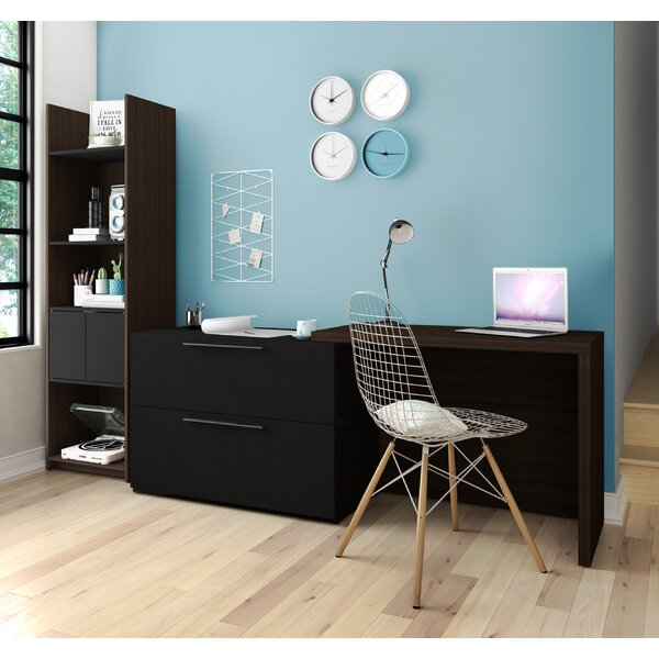 Frederick Desk with Storage Tower by Latitude Run