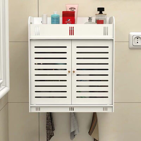 Stoy 14.96'' W x 16.93'' H x 7.09'' D Wall Mounted Bathroom Cabinet