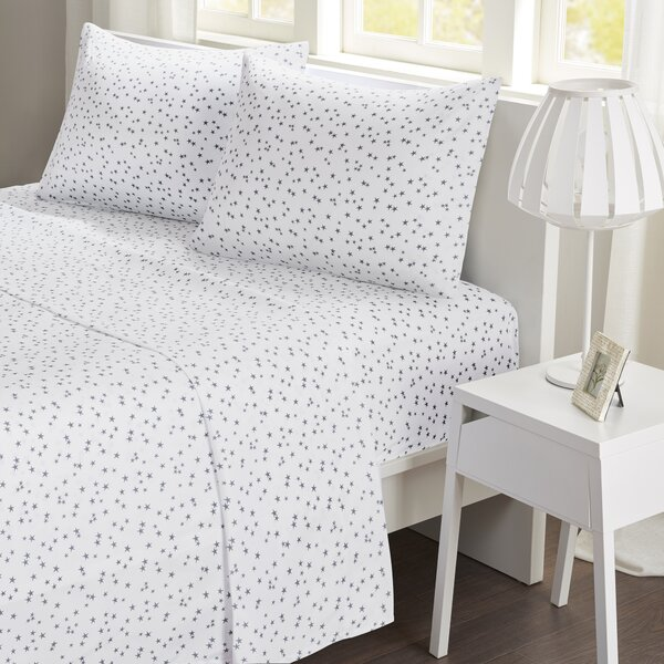 Gleaves Stars Sheet Set by Ebern Designs