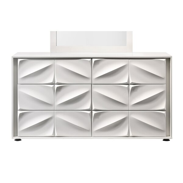 Baconton 6 Drawer Double Dresser by Orren Ellis