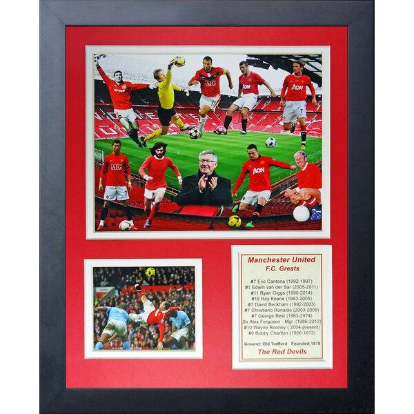 Manchester United FC Greats Framed Memorabilia by Legends Never Die